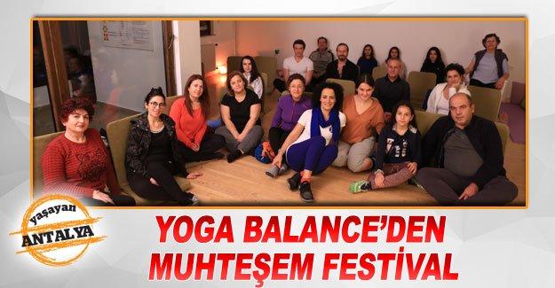 Yoga Balance'den muhteşem festival