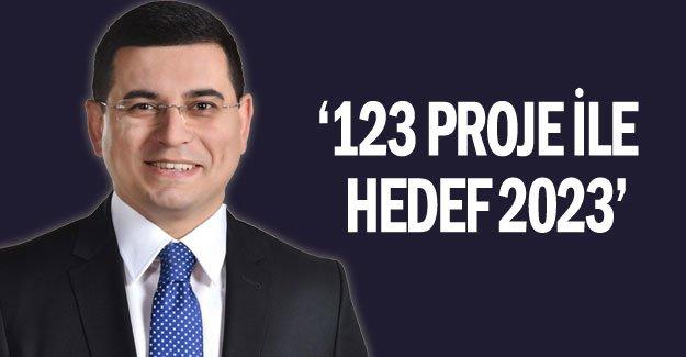 '123 proje ile  hedef 2023'
