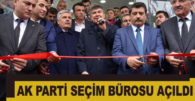 Ak Parti seçim bürosu açıldı