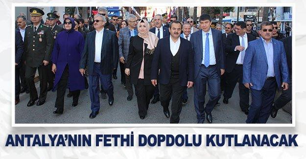 Antalya'nın fethi dopdolu kutlanacak