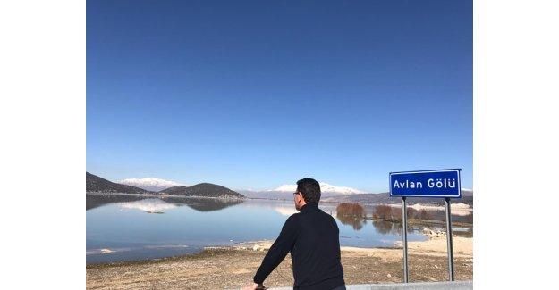 Avlan Gölü hayat buluyor