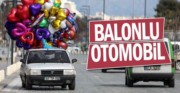 Balonlu otomobil