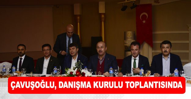 Çavuşoğlu, danışma kurulu toplantısında