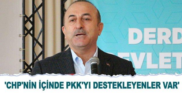 'CHP'nin içinde PKK'yı destekleyenler var'
