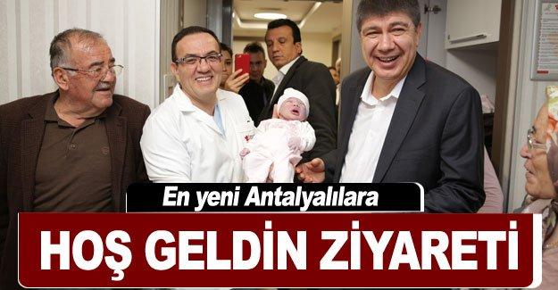 En yeni Antalyalılara hoş geldin ziyareti