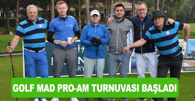 Golf Mad Pro-Am Turnuvası başladı
