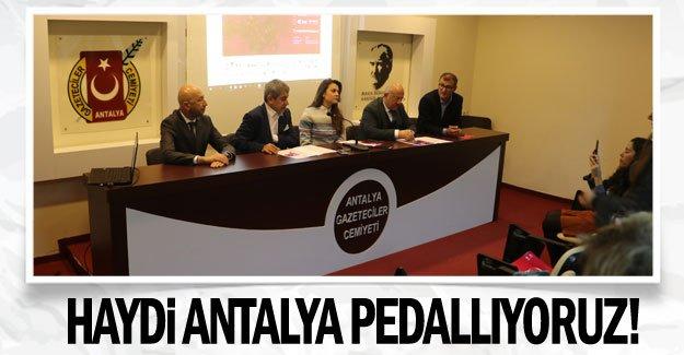 Haydi Antalya pedallıyoruz!