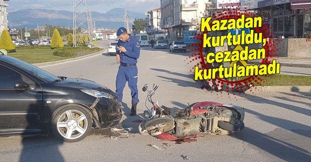 Kazadan kurtuldu, cezadan kurtulamadı