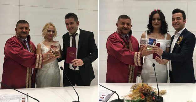Kepez'de 52 çift, 14 Şubatta evlendi