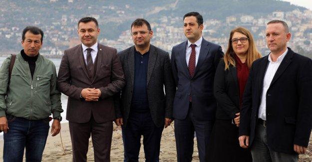 Kum tutucu mahmuz projesi basına tanıtıldı