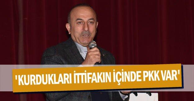 'Kurdukları ittifakın içinde PKK var'
