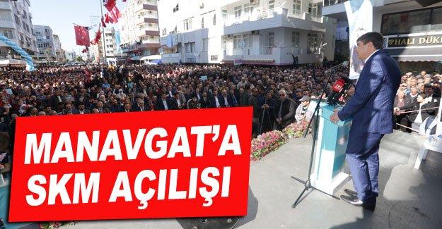 Manavgat'a SKM açılışı