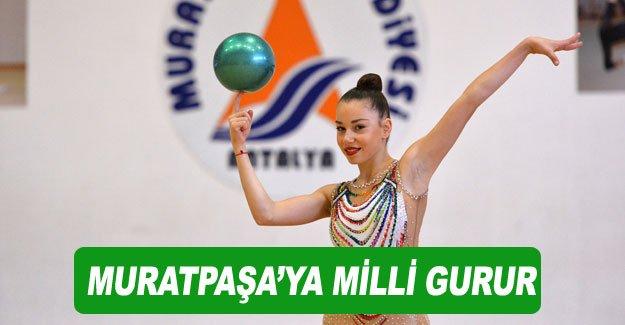 Muratpaşa'ya milli gurur