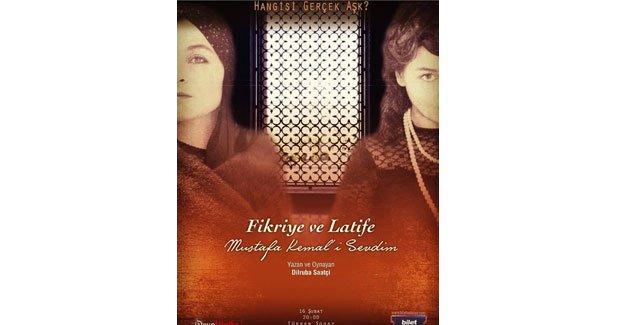 Mustafa Kemal'e aşık iki kadının hikayesi tiyatroda