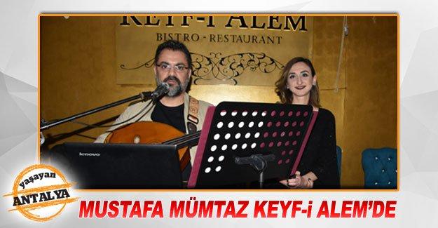Mustafa Mümtaz Keyf-i Alem'de