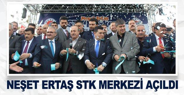 Neşet Ertaş STK Merkezi açıldı