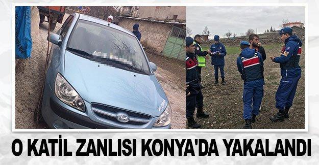 O katil zanlısı Konya'da yakalandı