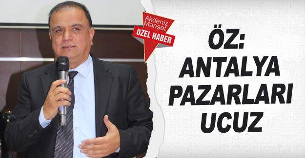 Öz: Antalya pazarları ucuz