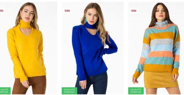 Rengârenk Bayan Kazak Modelleri