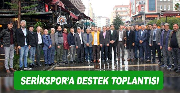 Serikspor'a destek toplantısı