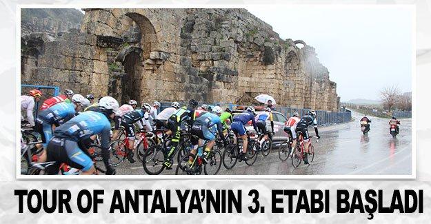 Tour of Antalya'nın 3. etabı başladı