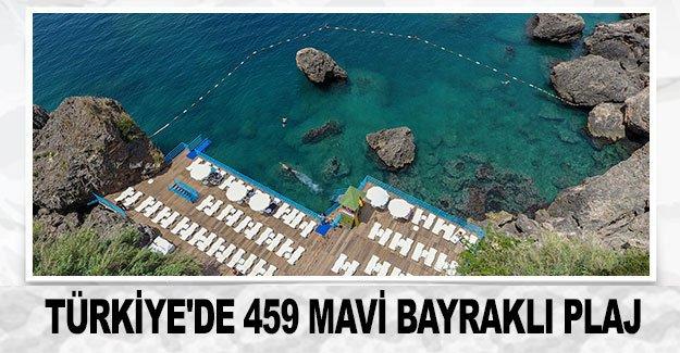 Türkiye'de 459 mavi bayraklı plaj