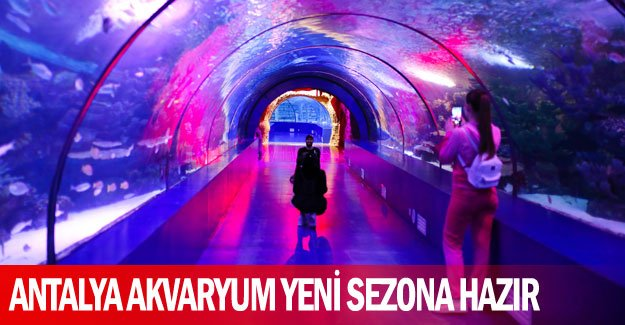 Antalya Akvaryum yeni sezona hazır