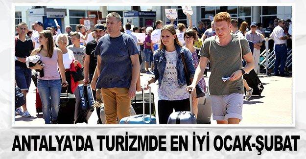 Antalya'da turizmde en iyi ocak-şubat