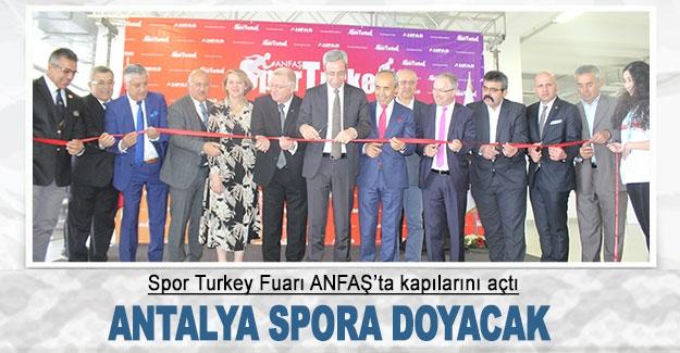 Antalya spora doyacak