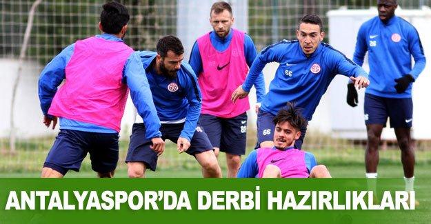 Antalyaspor'da derbi hazırlıkları