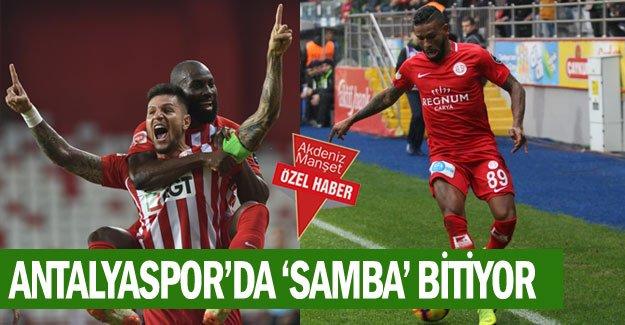 Antalyaspor'da 'Samba' bitiyor