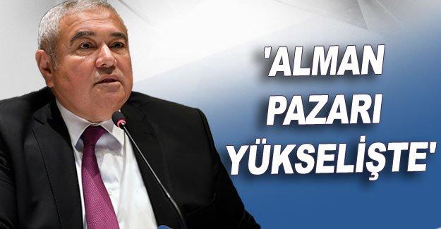 ATSO Başkanı Çetin: 'Alman pazarı yükselişte'