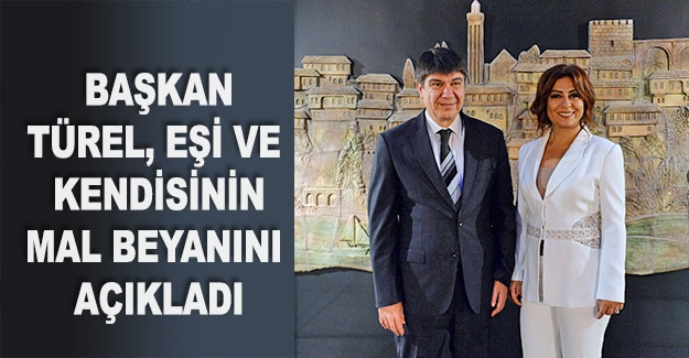 Başkan Türel, eşi ve kendisinin mal beyanını açıkladı