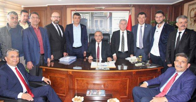 Başkan Uysal'dan Türk-İş'e ziyaret