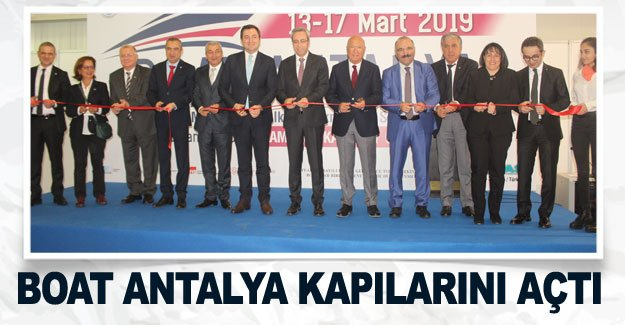 Boat Antalya kapılarını açtı