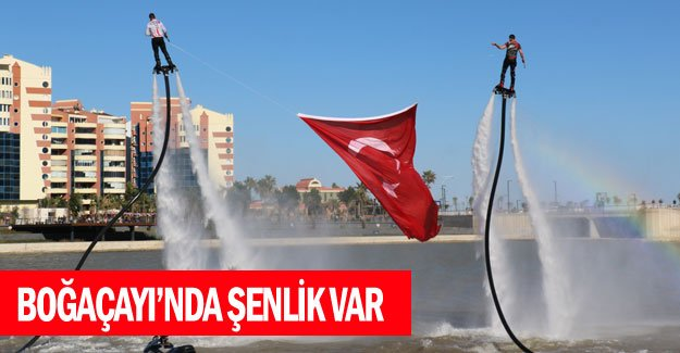 Boğaçayı'nda şenlik var