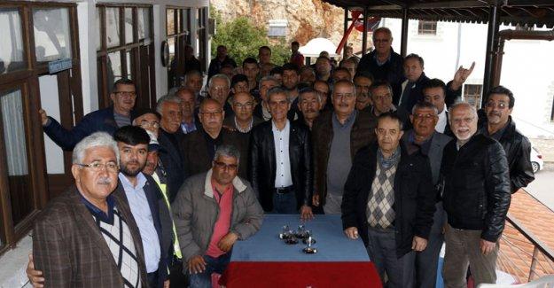 Dülgeroğlu'ndan Finike'ye Gazi Lokali sözü