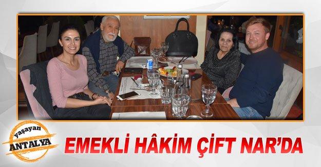 Emekli hâkim çift Nar'da