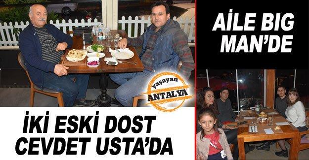 İki eski dost  Cevdet Usta'da