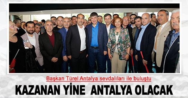 Kazanan yine  Antalya olacak