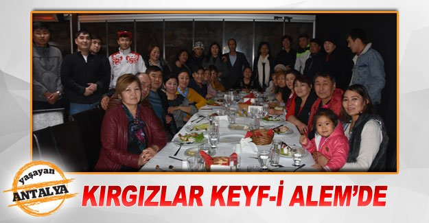 Kırgızlar Keyf-i Alem'de