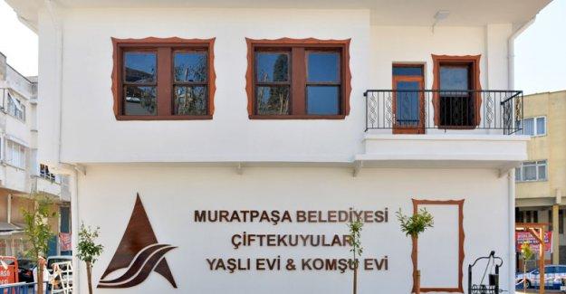 Muratpaşa'dan 4'üncü yaşlı evi