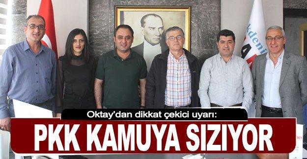 PKK kamuya sızıyor