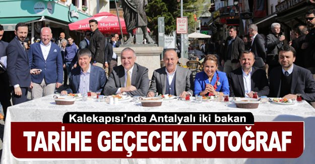 Tarihe geçecek fotoğraf