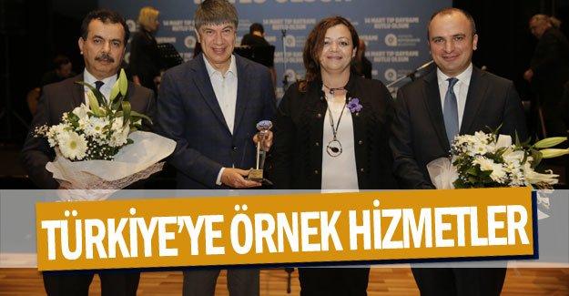 Türkiye'ye örnek hizmetler