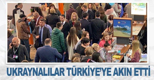 Ukraynalılar Türkiye'ye akın etti