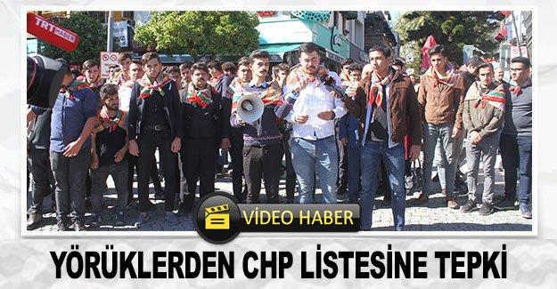 Yörüklerden CHP listesine tepki