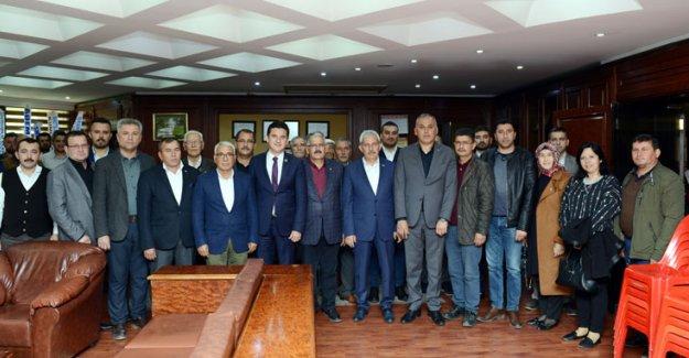 AK Parti'den Başkan Köleoğlu'na ziyaret
