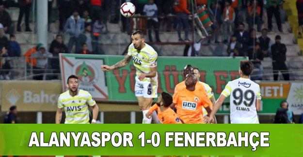 Alanyaspor 1-0 Fenerbahçe