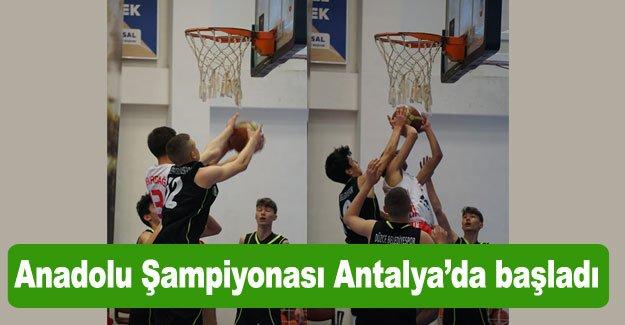 Anadolu Şampiyonası Antalya'da başladı